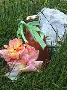 Sirup aus Rosen