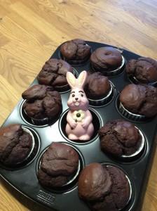 Schokoladen-Buttermilch-Muffin