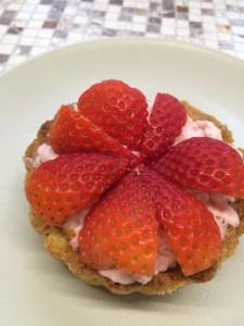 Erdbeertartelette