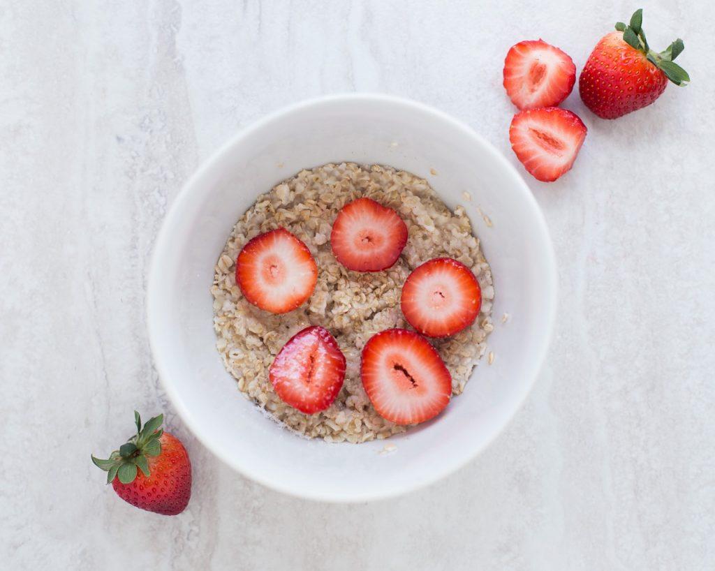 berries, strawberries, bowl
